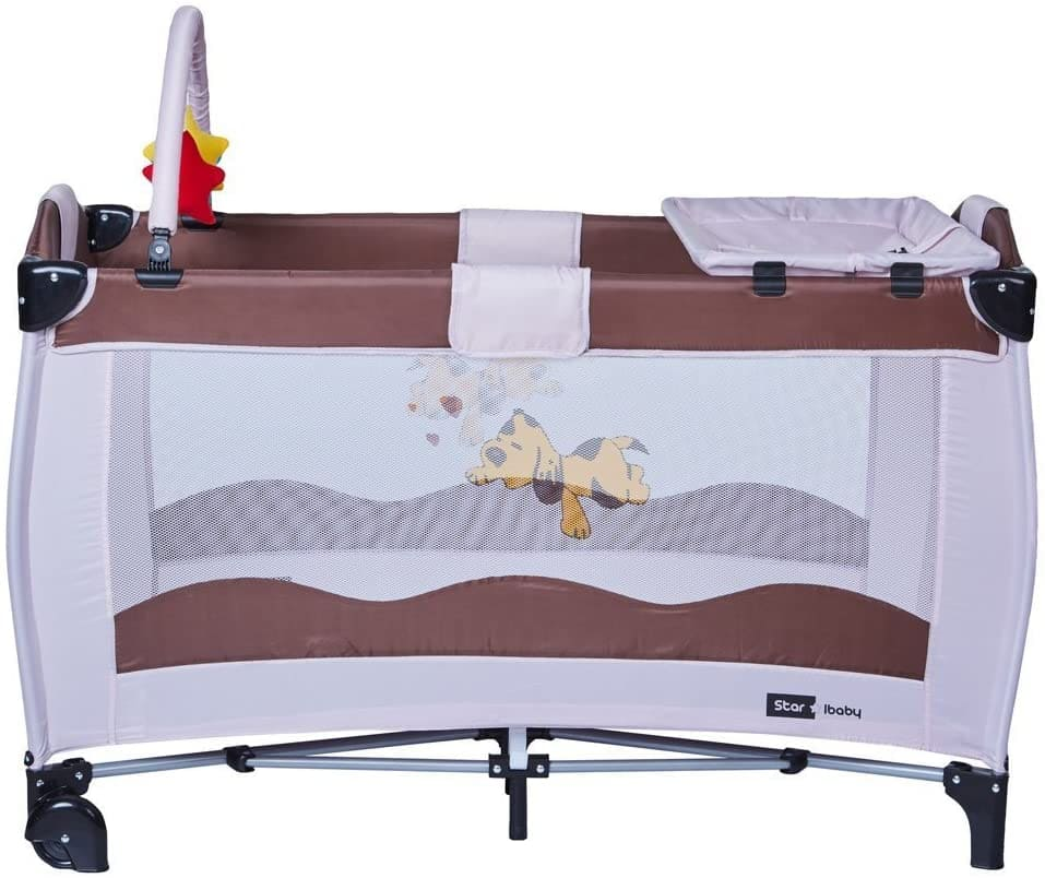 Minicuna colecho star ibaby plegable
